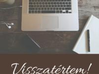 Zsófi Blogol - Visszatértem!
